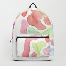 171122 Watercolour Abstract 8  shapes art abstract Backpack