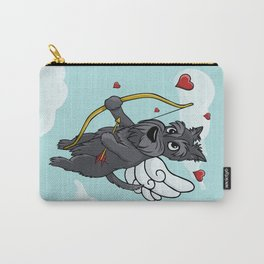 Cupid Scottish Terrier Carry-All Pouch