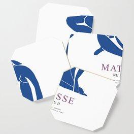 Henri Matisse Nu Bleu II (Blue Nude II) 1952 Artwork for Wall Art, Prints, Posters, Tshirts, Men, Women, Youth Coaster