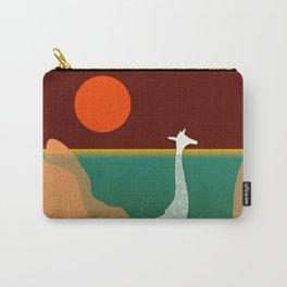 Giraffe Aquatic Scene Carry-All Pouch
