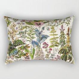Adolphe Millot - Plantes Medicinales A - French vintage poster Rectangular Pillow