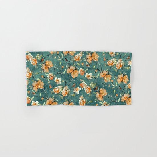 Flowers & Birds Hand & Bath Towel