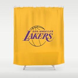 LA LAKERS LOGO Shower Curtain