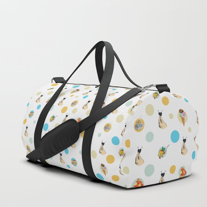 Italian Food Collection Duffle Bag