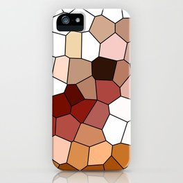 grape vines polygons iPhone Case