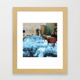 Bureau surréaliste Framed Art Print