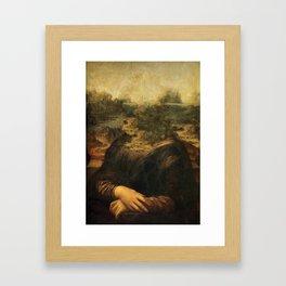 La Jaconde Framed Art Print
