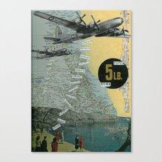 5 Lb. Paper Bomb Canvas Print