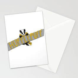 Hufflepuff Pride Stationery Cards