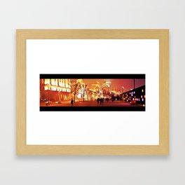 Shanghai by night #2 Framed Art Print