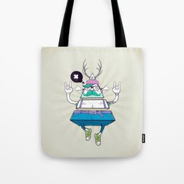 Triangle Hipster Tote Bag