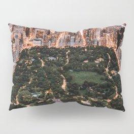 Central Park, New York - Twilight Pillow Sham