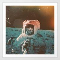 Project Apollo - 7 Art Print