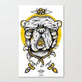 Bulldogs mood Canvas Print