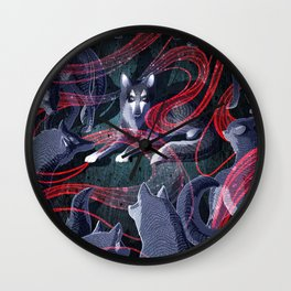 The Thing Wall Clock
