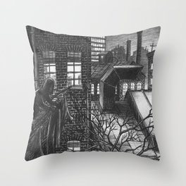 The last washed Throw Pillow