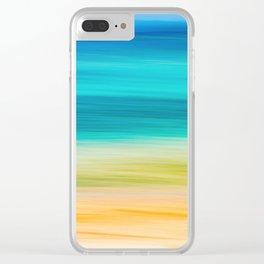 BVI Blues Clear iPhone Case