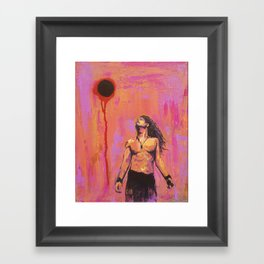 A Tribute to Chris Cornell: Fare Thee Well Black Hole Son Framed Art Print