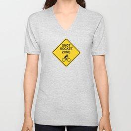 Snot Rocket Zone Unisex V-Neck