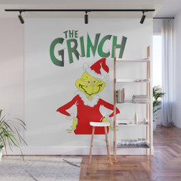 The Grinch Wall Mural