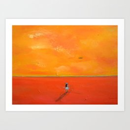 I Want to Fly Art Print