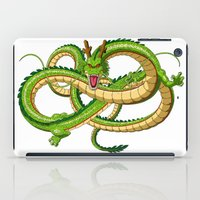 dragon ball iPad Cases featuring Shenron Dragon ball by OverClocked