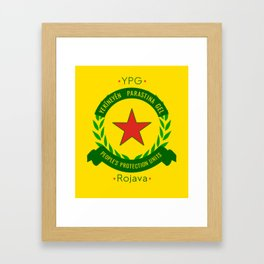 YPG, People's Protection Units Framed Art Print