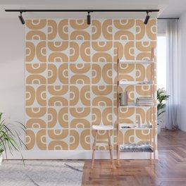 Groovy Mid Century Modern Pattern 731 Harvest Gold Wall Mural