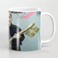 key Mugs featuring Key by Faith Buchanan