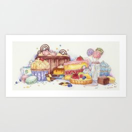 Sweet Thieves Art Print