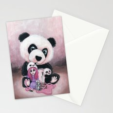 Candie and Panda Stationery Cards