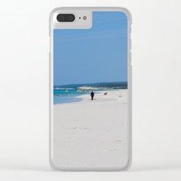Son Bou, Menorca Clear iPhone Case