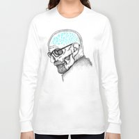 heisenberg Long Sleeve T-shirts featuring Heisenberg by Mike Koubou