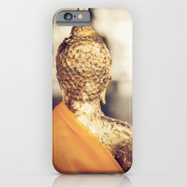 Buddha the other side iPhone Case