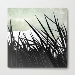 The Grass Metal Print