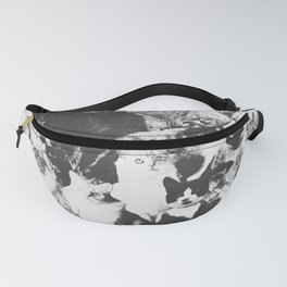 Cats Forever B&W Fanny Pack