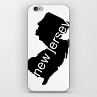 new jersey iPhone & iPod Skins featuring New Jersey by Isabel Moreno-Garcia