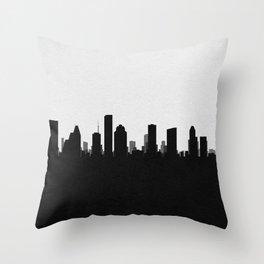City Skylines: Houston Throw Pillow