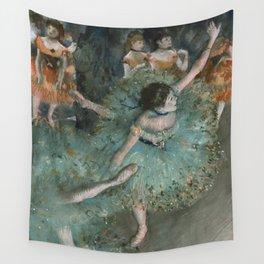 Swaying Dancer - Edgar Degas Wall Tapestry