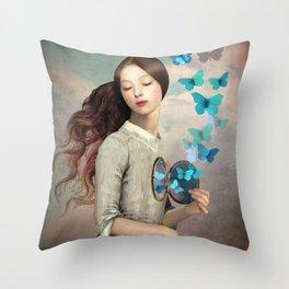Set Your Heart Free Throw Pillow
