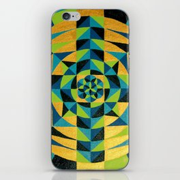 Healing Earth Mandala iPhone Skin