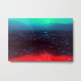 Kyoto Tower Metal Print