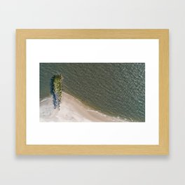 Undefined Jetty Framed Art Print