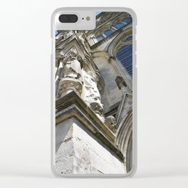 Salisbury Cathedral Clear iPhone Case