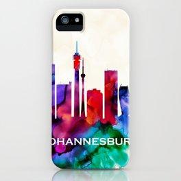 Johannesburg Skyline iPhone Case