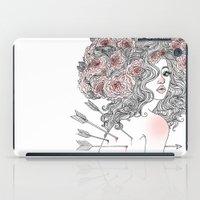 arrow iPad Cases featuring Arrow by Vic Hollins Art