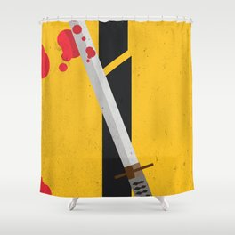 KILL BILL Tribute Shower Curtain