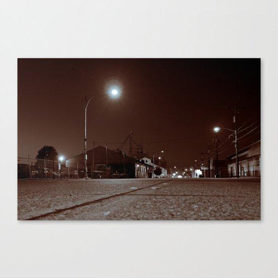 South Tacoma night Canvas Print