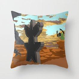 Faultee Minds - Monolith Throw Pillow
