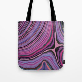 Mineralicious~Pink Agate Tote Bag